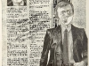 Atkin, Mother made me a Homosexual, 1980_22x31_pencil_on_bookpage 1