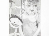 thumbs 173 atkin shantilla cumberpatch and daughter 1981 24x34 pencil drawing Liz Atkin