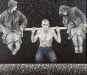 thumbs 83 dean graham weight lifting 1978 182x152 acrylic canvas Graham Dean