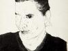 thumbs 76 fenwick cathy self portrait 1999 13x17 pencil drawing Cathie Fenwick