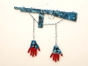 thumbs 315 harrison chained to the gun 1996 88x70x6 wood mixedmedia Kevin Harrison