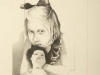 231_burman_girl_with_doll_1971 30x36_pencil_drawing