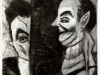 thumbs 297 burch between the fools 1985 63x92 charcoal drawing Collection continued