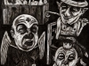thumbs 299 burch another morbid story 1997 55x68 charcoal drawing Collection continued