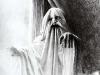 thumbs 62 lipton ghosts 1985 49x59 pencil drawing Laurie Lipton