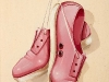 thumbs 254 mosley pink shoes 1997 19x24 oil on board Duncan Mosley