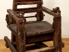 thumbs 115 webster noble electric chair 1990 84x136x71 wood metal Tim Noble and Sue Webster