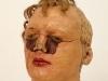 thumbs 38 poynter head study 1975 lifesize wax mixedmedia Malcolm Poynter