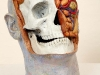 thumbs 40c poynter head study skull 2001 lifesize fibreglass oil paint Malcolm Poynter