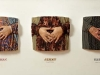 thumbs 14 knight susan jenny sarah 1986 185x86x18 fibreglass mixedmedia Robert Knight