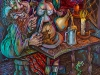 thumbs 211 russel coan allan to a haggis 1996 122x153 acrylic canvas Alan Russel Cowan