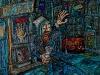 thumbs 216 russel homeless billy 1998 56x58 acrylic on canvas Alan Russel Cowan