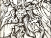 thumbs 486 cowan the caped crusador 1997 12x17 drawing 1 Alan Russel Cowan