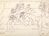 thumbs 326 souza orgy drawing 1965 42x28 pen and ink drawing 1 Francis Souza