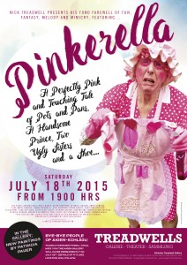 2681bdf7e3f3e2cc310342017ffe766a Nick Treadwell presents his Fond Farewell of Fun and Fantasy, Melody and Mimicry, Featuring Pinkerella  on Saturday 18th July 2015 from 7pm